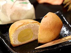 信玄堂銘菓:栗まんじゅう