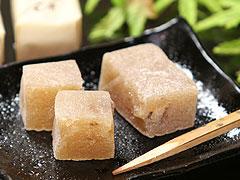 信玄堂銘菓:くるみ餅